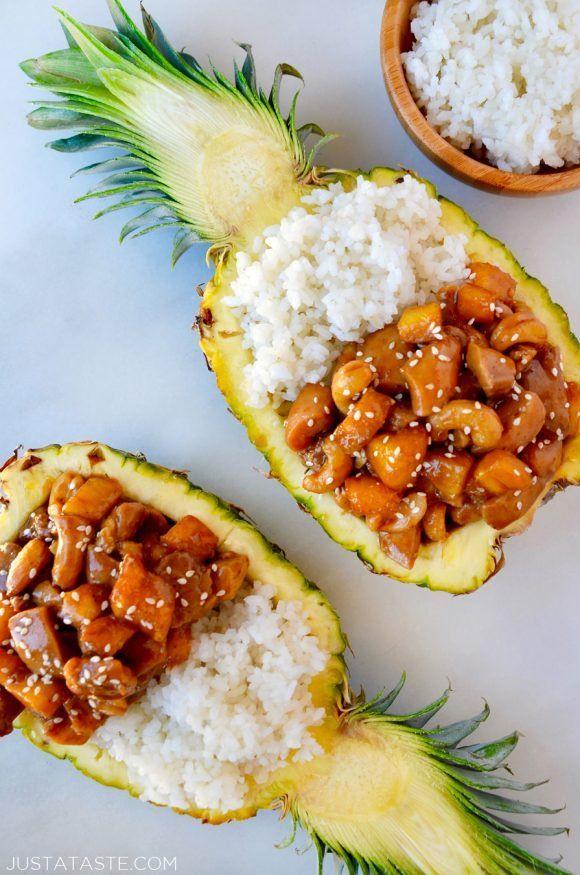 Sticky Pineapple Chicken Recipe