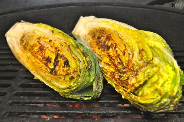 Grilled Romaine Lettuce
