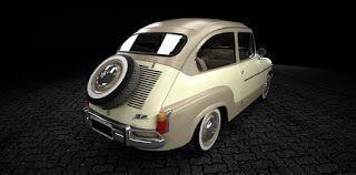 Mis Modelos 3D: Fiat 600 - Retro Prototipos IV