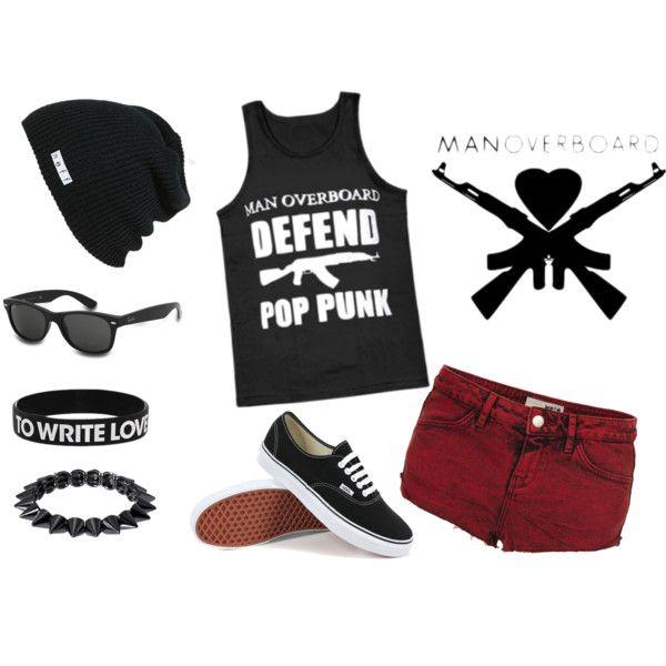 """Defend Pop Punk"" by kjeschon on Polyvore"