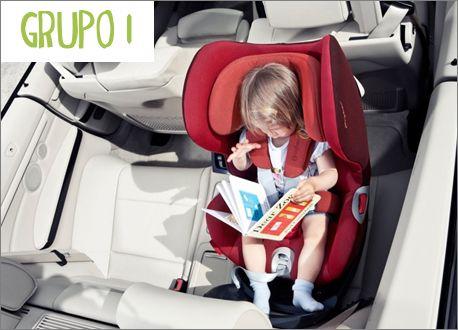 ¿Cuándo pasar al niño a una silla de coche grupo 1?
