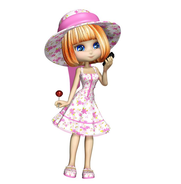 Little Girl Cute Doll Child transparent image