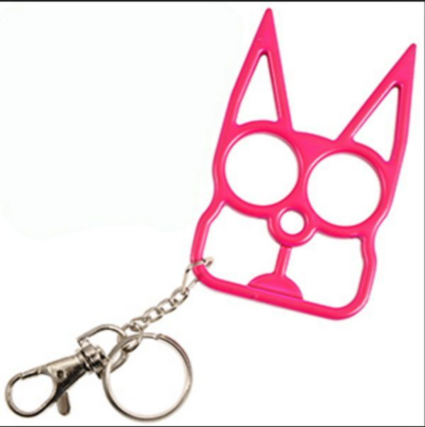 Cat Shaped Self-Defense Keychain
