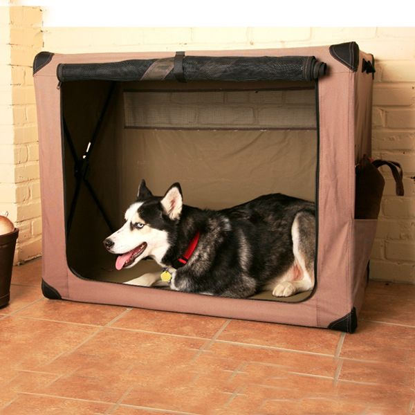 Dog Digs Portable Dog Crate - https://barkavenuebycucciolini.ca/product/dog-digs-portable-dog-crate/