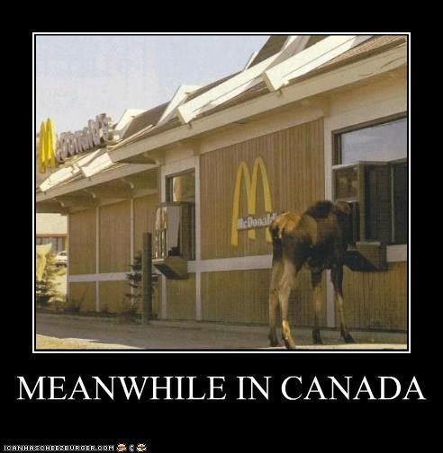 Eh, how long does it take to get a Big Mac in Canada?