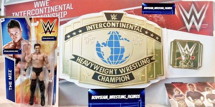 KIDS WWE MATTEL INTERCONTINENTAL CHAMPIONSHIP BELT & THE MIZ SERIES 52 FIGURE - http://bestsellerlist.co.uk/kids-wwe-mattel-intercontinental-championship-belt-the-miz-series-52-figure/