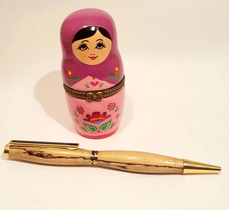 Beautifully handcrafted wooden pen made from Irish Spalted Beech by OakWoodIreland on Etsy