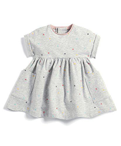 Mamas & Papas Baby-Mädchen Kleid Spot Print Jersey Dress ...