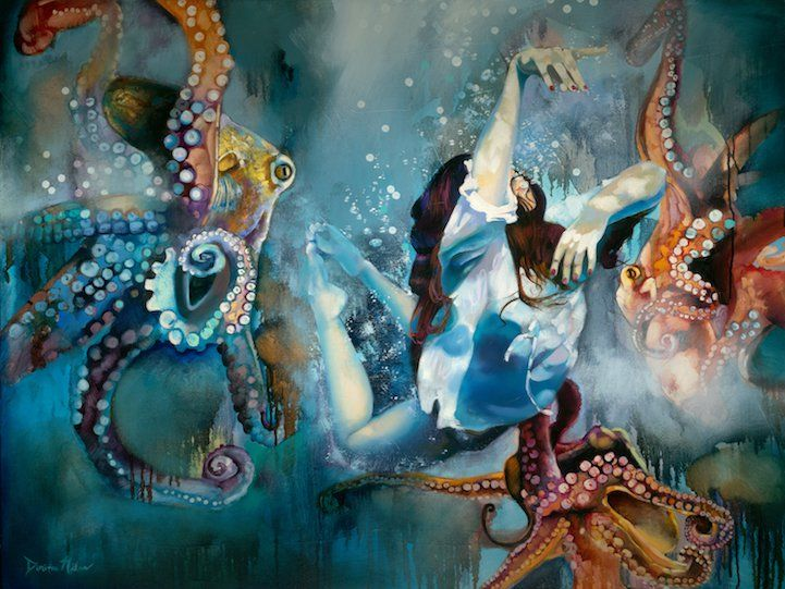 Dimitra Milan surreal painting7