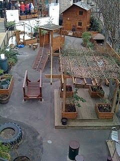 frederick froebel-inspired outdoor play area at cowgate under 5