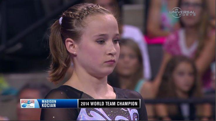 Madison Kocian high score on Uneven Bars - Universal Sports