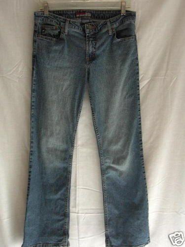 Aeropostale Jr Women's Stretch Denim Blue Jeans 7/8 R 32 x 31 #Aeropostale #Flare