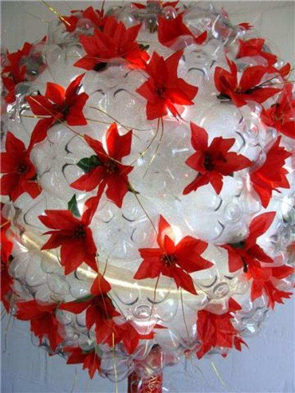 +1000 ideias sobre Enfeites De Natal Reciclados no Pinterest enfeite de Natal, Reciclaveis e  -> Enfeites De Natal Com Garrafas Pet Passo A Passo