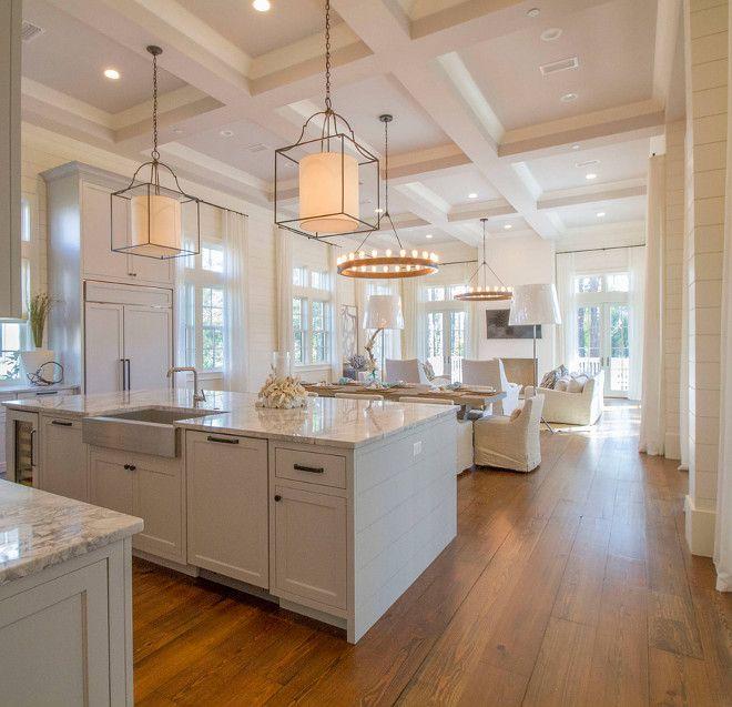 "Kitchen flooring. Kitchen flooring is 12"" reclaimed Heart Pine. Kitchen flooring. Wood kitchen flooring. Wide kitchen flooring #Kitchenflooring #12incheswoodfloor #reclaimedHeartPine kitchen-flooring Geoff Chick & Associates"