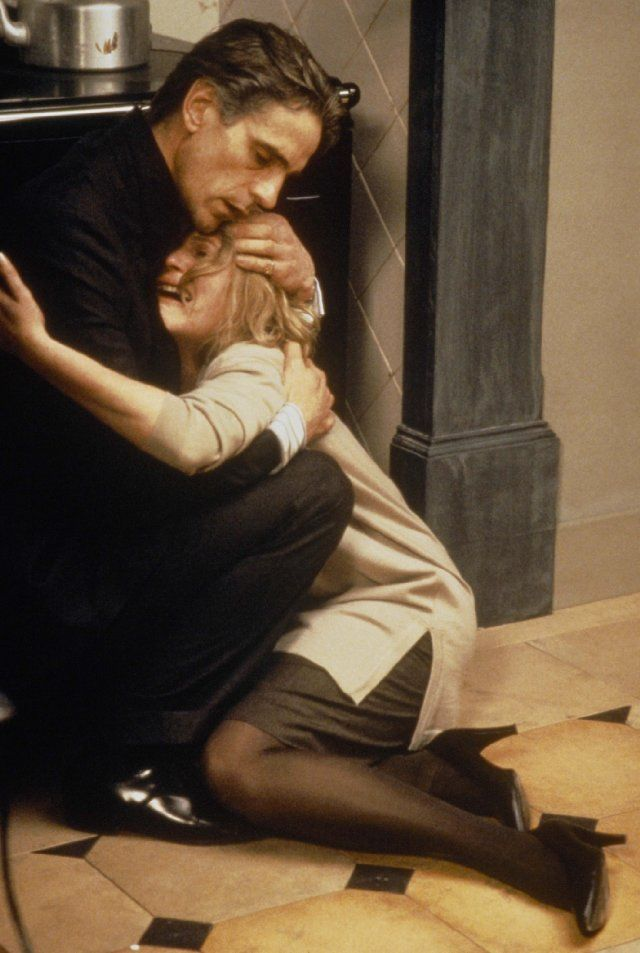 Jeremy Irons & Miranda Richardson in 'Damage', 1992 - Directed by Louis Malle.