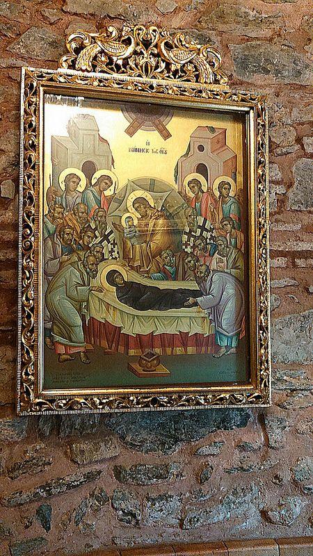 Κοίμηση της Θεοτόκου, Saint Dimitrios Church, Thessaloniki, Greece