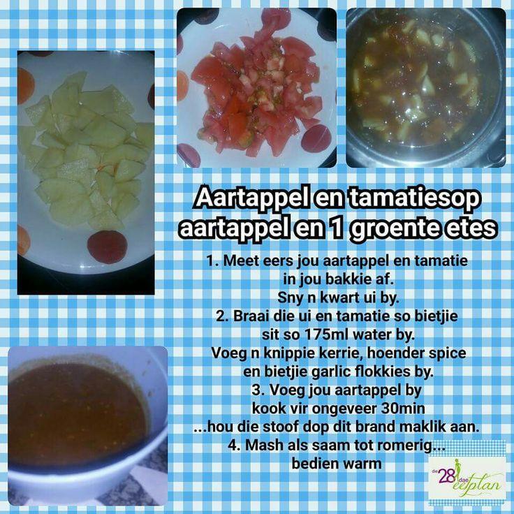 Potato & tomato soup