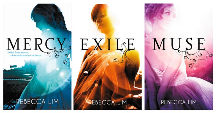 Mercy, Exile and Muse by Rebecca Lim. Book 1,2 and 3 of the Mercy Series