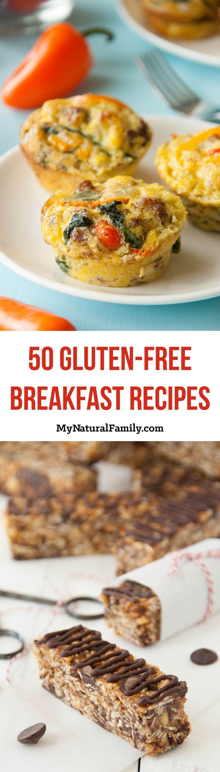 50 Gluten Free Breakfast Recipes