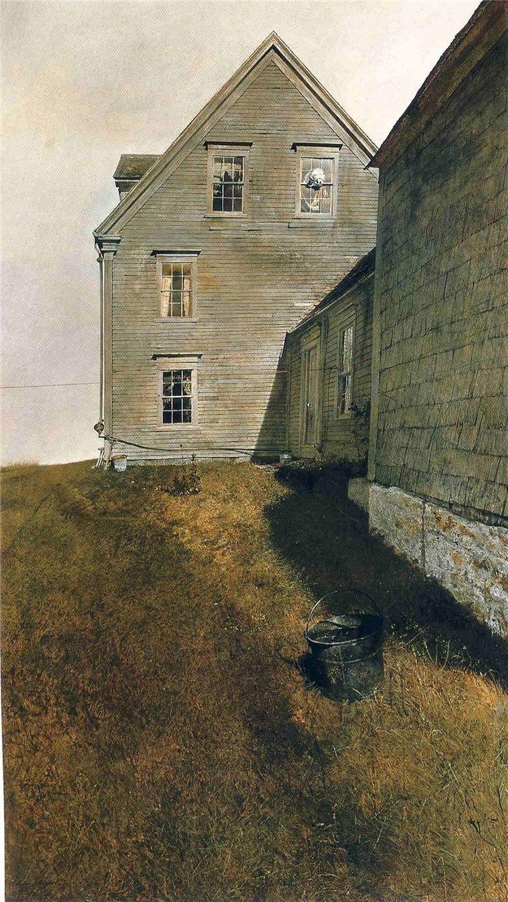 Эндрю Ньюэлл Уайет/ Andrew Newell Wyeth | Пейзажи, Картины ...