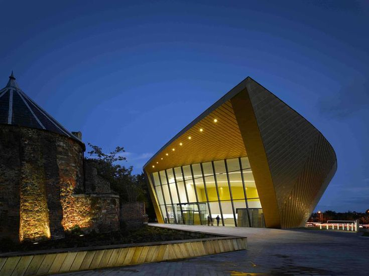 Firstsite Contemporary Visual Arts Center by Rafael Vinoly