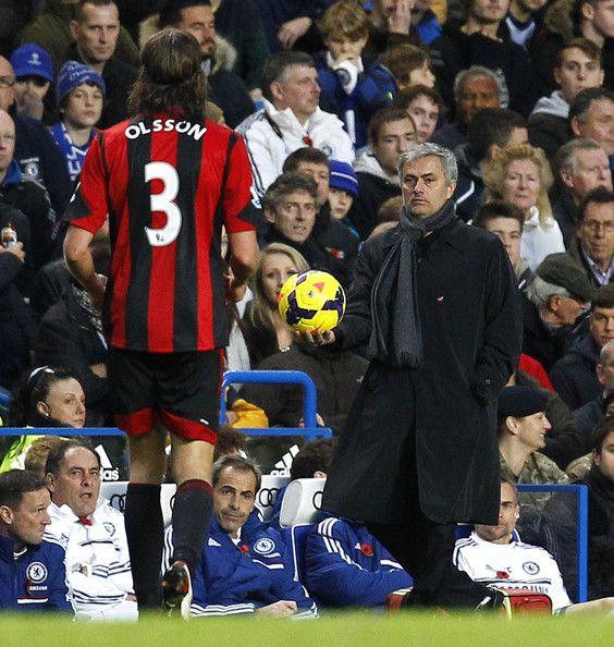 Jose Mourinho - Chelsea v West Bromwich Albion - Premier League