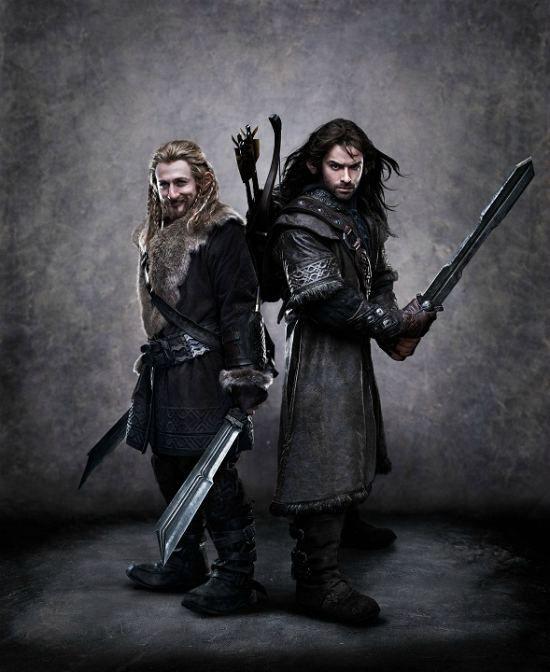 Fili and Kili (Dean O'Gorman and Aidan Turner) | The Hobbit: An Unexpected Journey