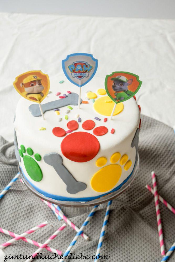 Paw Patrol Schoko-Orangen Torte (Paw Patrol Cake)