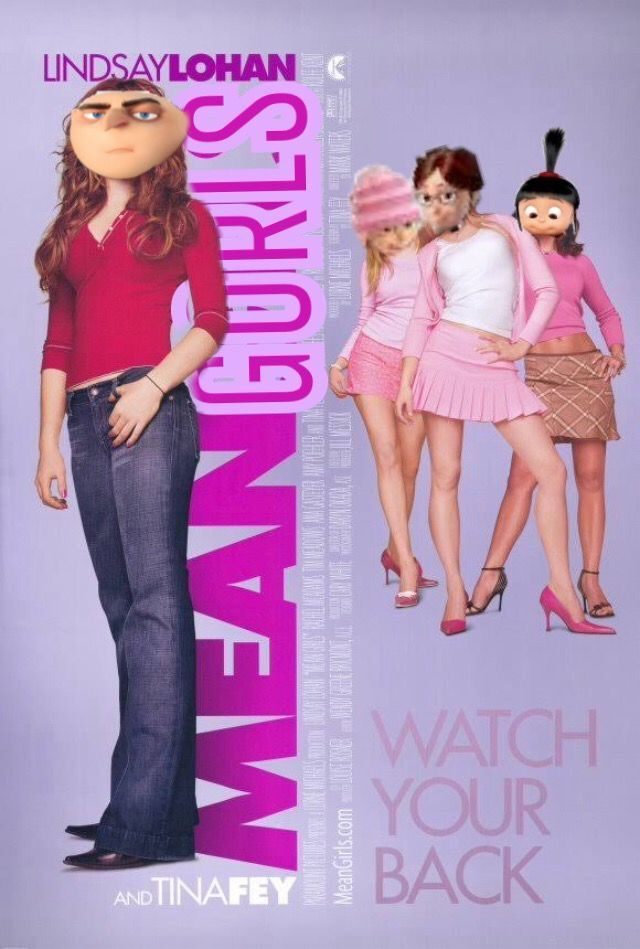 Pin By Mesdw On Funny Mean Girls Meme Despicable Me Memes Mean Girls