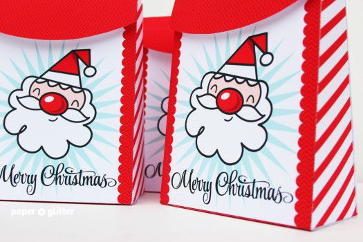Super Cute Santa Printables   Paper Glitter