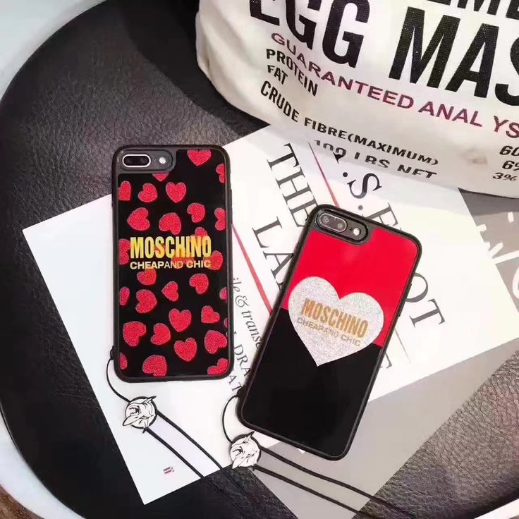 iPhone7s/6plusケース ブランドモスキーノ アイフォン7plus/6sハート柄携帯カバーソフト