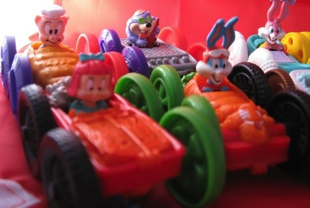 The 26 Most Awesome Happy Meal Toys of the 90s! (Totally found one of these in the toy box the other day...so badass.)