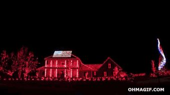 Awesome Christmas Lights On House | How are you feeling about the upcoming holidays/winter?