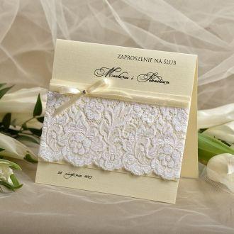 Zaproszenia Ślubne  #decorisus #zaproszeniaslubne #koronkowezaproszenia
