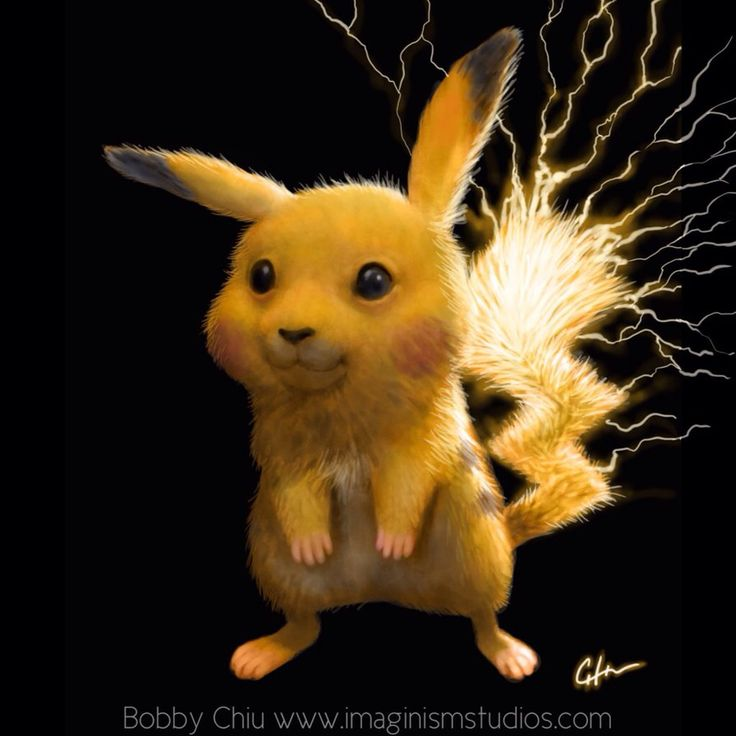 Live Action Pikachu by imaginism on deviantART