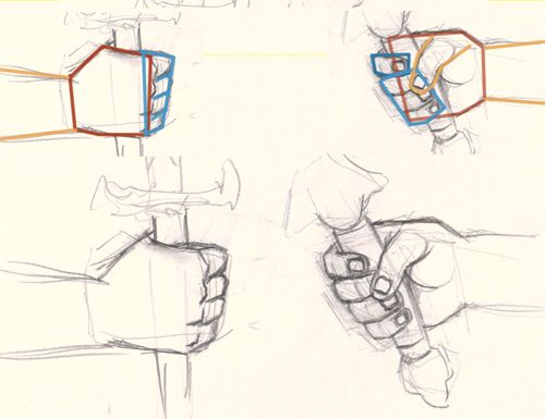 How to draw hand holding sword | How to draw and paint tutorials video and step by step