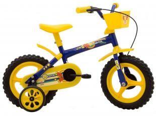 Bicicleta Infantil Track & Bikes Arco Íris Aro 12 - Freio Tambor