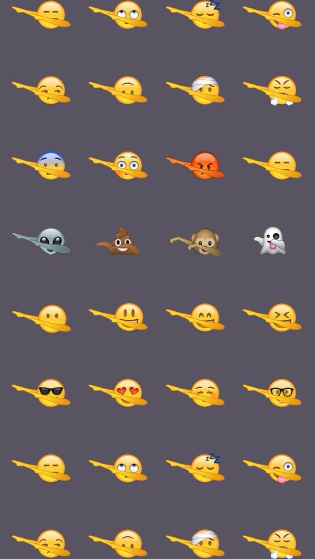 Dabbing emojis
