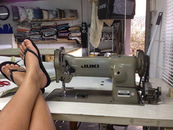 My Juki sewing machine