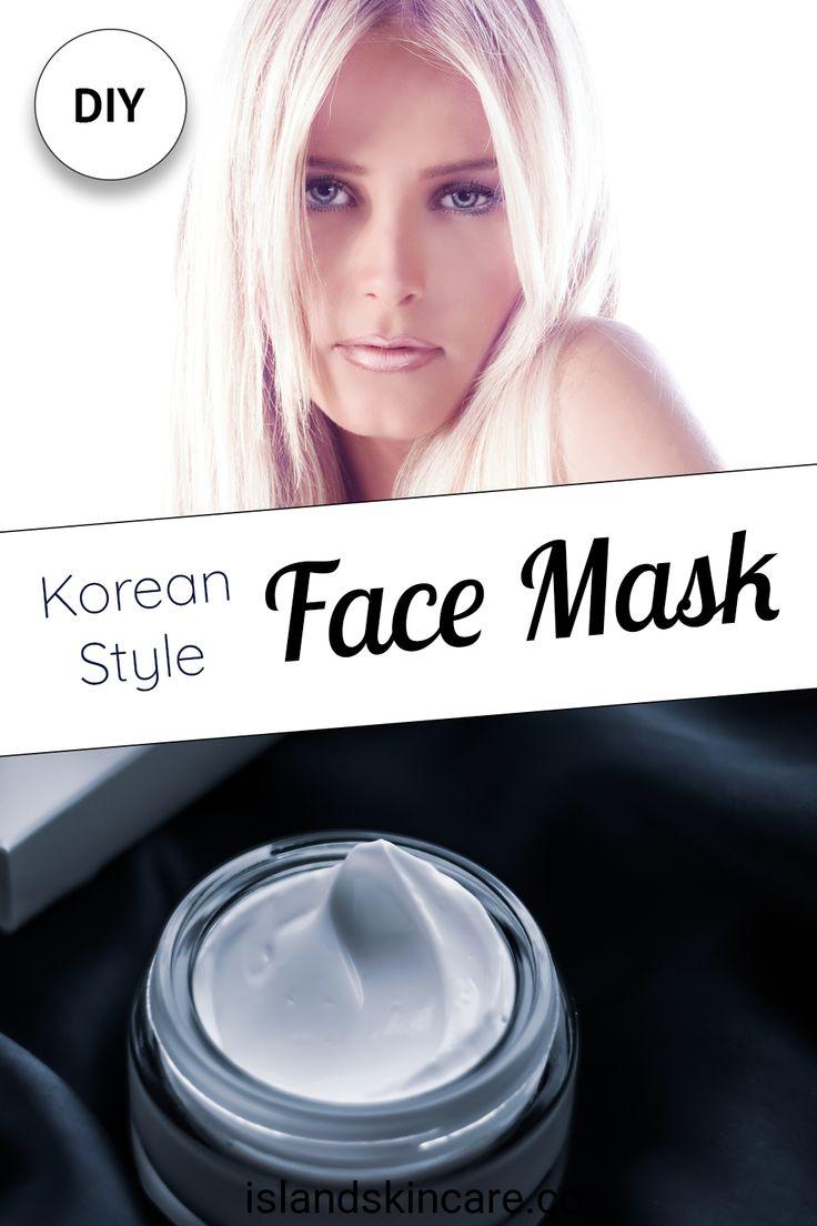 DIY - Homemade Korean Night Face Mask For Blackheads