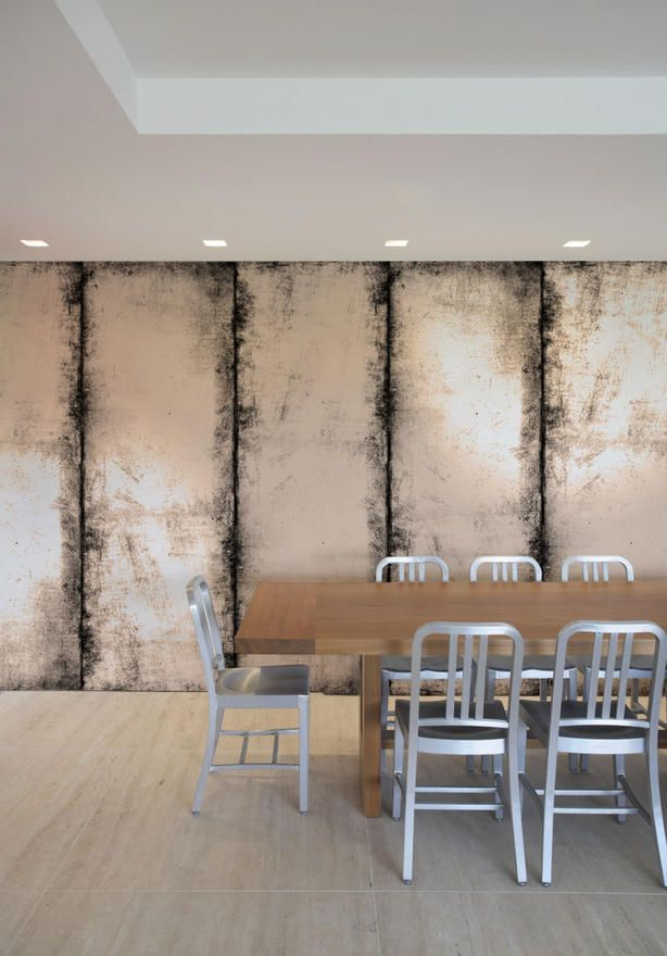 Distressed Wall - antique mirror effect wallcovering. I ...