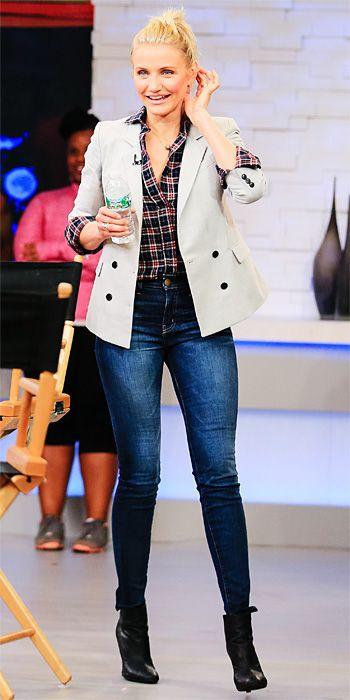 Look of the Day - January 7, 2014 - Cameron Diaz from #InStyle