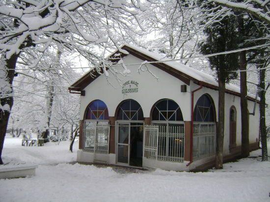 Naoussa (Winter - Church of S.Nikolas on Agios Nikolas Park)