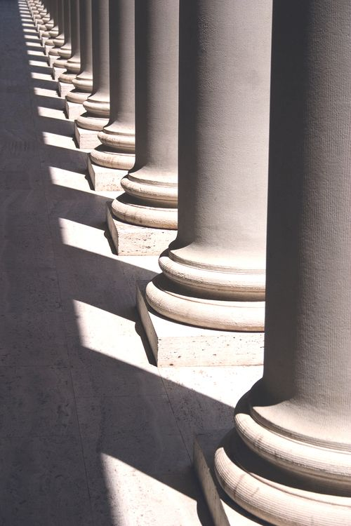 The pillars of this picture are repeated. As a result, forms such as the prism…