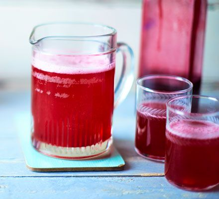 This easy recipe is a great way to use up a pick-your-own glut of blackcurrants and makes a refreshing summer drink.