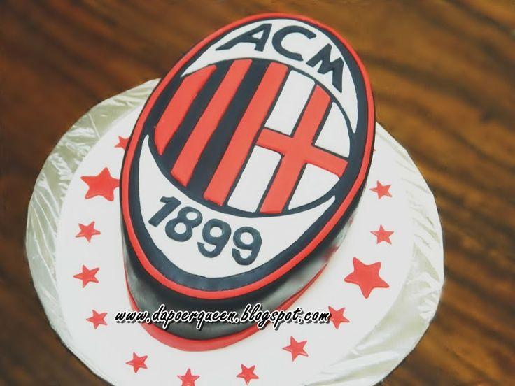 "Dapoer Queen: 3D ""AC Milan"" cake"