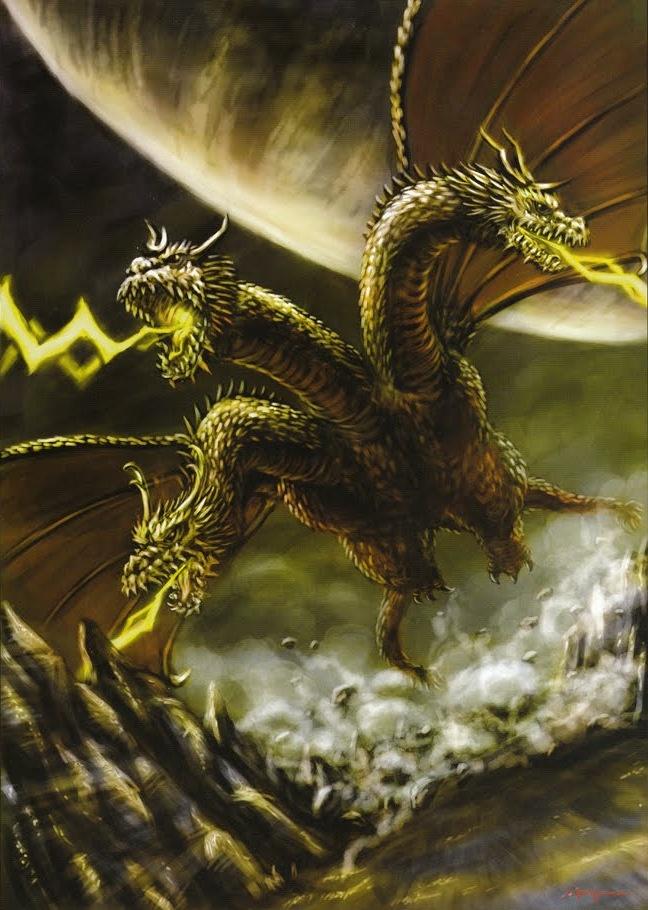 King Ghidorah | * Mecha | Monsters | Pinterest