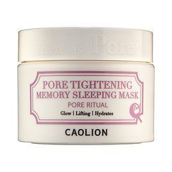Caolion Pore Tightening Memory Sleeping Mask 1
