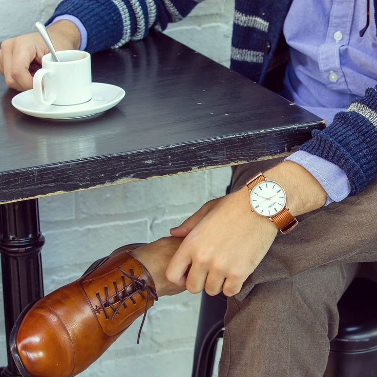 A watch makes an outfit.