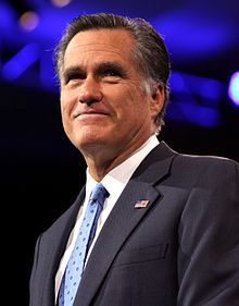 Former Massachusetts Governor and 2012 Republican Presidential nominee Mitt Romney speaking at CPAC, March 15, 2013.